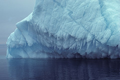 Ice berg melting by Derek Keats on Flickr
